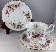 Kuriózum Lavender Rose Royal Albert Angol teás/sütis készlet