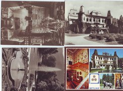 Betléri kastély - régi képeslapokon