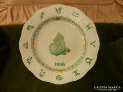 Horoszkópos tányér 1998 oroszlán