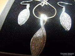 925 ezüst ékszer szett  Swarovski kristályokkal