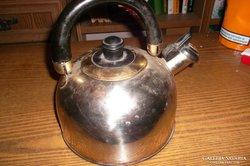 Retro princess gold teafőző,rozsdamentes acél