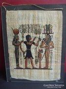 Egyiptomi festett papíruszkép