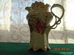 Csipkézett-monumentális-szecessziós-gyöngyvirág-rózsa kiöntő