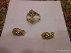 Exkluzív briliáns gyűrű és fülbevaló