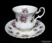 Royal Albert Sweet Violets csésze és csészealj 3.