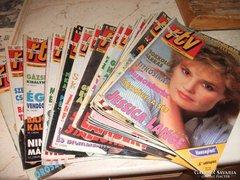 SzÍnes RTV Újság eladó!1994.10.03-1995.03.19-ig