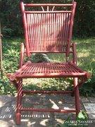 Akció ! Kerti szék összecsukható bambusz-Retro db.