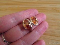 Két köves ezüst gyűrű - szép!!