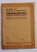1941. évi Földrajzi zsebkönyv térképei