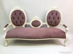 Restaurált barokk kanapé szófa