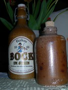 2 db. kő palack