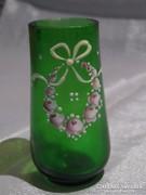 Üveg vázácska, festetett