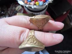 Réz gyűrűk