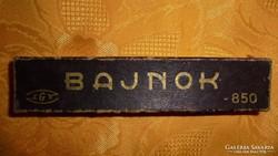 Régi Bajnok körző eredeti dobozában