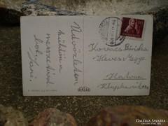 Képeslap  CSANÁDAPÁCZA bélyegzés