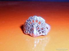 Régi PáVA mint.Tibeti ezüst gyűrű