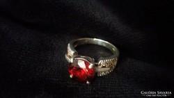 Antik 925 ezüst gyűrű! Gyönyörű!