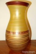 Muránói váza 23 cm
