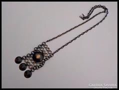 Iparművész bronz nyaklánc