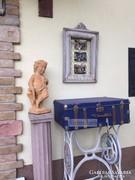 Provence bútor, antikolt fehér ónémet fénykép keret 02.