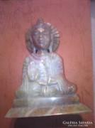 Gyönyörű Buddha indiai jáspisból kifaragva