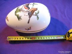 Herendi porcelán tojás bonbonier Rothschild 16,5 cm 0,5 kg