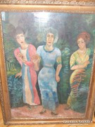 Tichy Gyula : Három nő