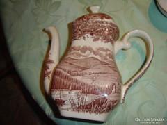 Régi szép angol teás kancsó  IRONSTONE