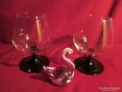 2 db csodás Luminarc üveg pohár 13 cm    0423