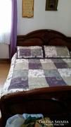 Olasz magasfényű hálószobabútor 5 darabos+ ágyrácsok