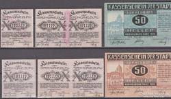 1920. Korneuburg, Ausztria, 2 szett notgeld.