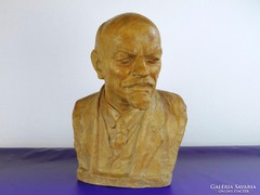 0F056 Pátzay Pál : Hatalmas Lenin terrakotta büszt