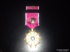 Eredeti USA kitüntetés, Legion of Merit Szalagsávval, Új
