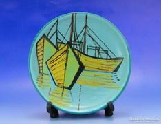 0A749 Retro G. STAINDL kerámia falidísz tányér