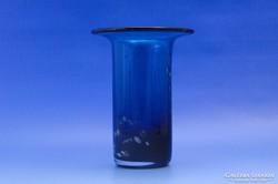 0C649 Jelzett művészi Mdina fújtüveg váza
