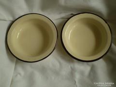 Régi zománcozott tányér