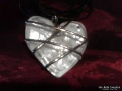 Extra muranói szív medál
