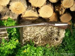 Damaszt csövű arany duplacsövű vadászpuska
