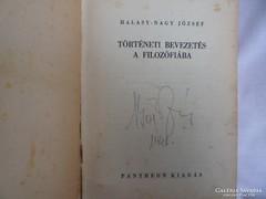 Halasy : Történeti bevezetés...