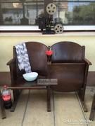 Antik bútor, 2 személyes mozi szék.