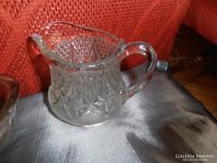 Régi üveg kiöntő