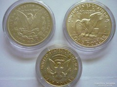 USA ezüst dollárok