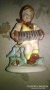 Német porcelánl kislány
