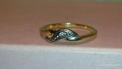 Arany gyűrű  ( 14 karátos)