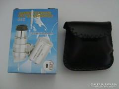 Mini kézi mikroszkóp nagyító-lupé 60x-os nagyítás