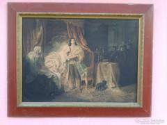 Ll.Rákóczi Ferenc Elfogatása Benczúr Gyula 1869