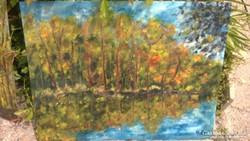 Két festmény eladó, szignó: H. A.