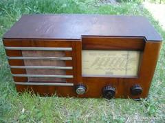 Standard Extra 822 csöves rádió! 1938-ból!