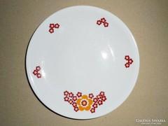 Alföldi Porcelán virág mintás süteményes tányér