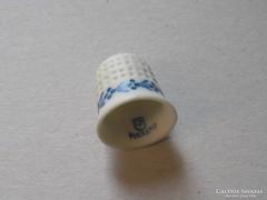 Herendi porcelán gyűszű.